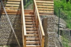 Holzstiege